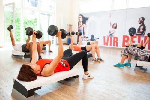 exercices d'aérobie