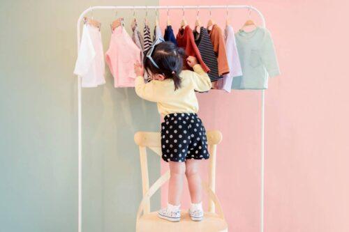 vêtements à motifs
